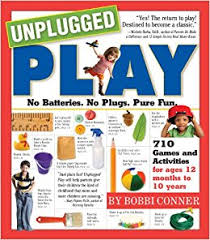 unplugged play, parenting books, kid activities