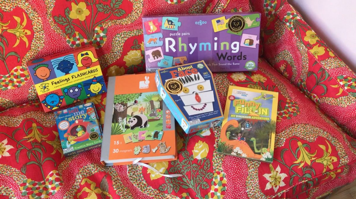 Photo of toys and games that inspire creativity and communication