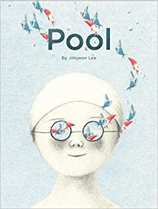 pool, wordless picture books