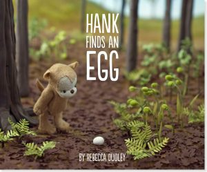 picture books, hank finds an egg