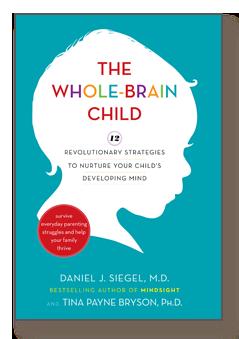 parenting books, the whole brain child