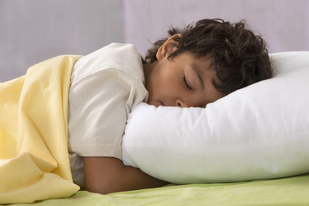 kid going to sleep