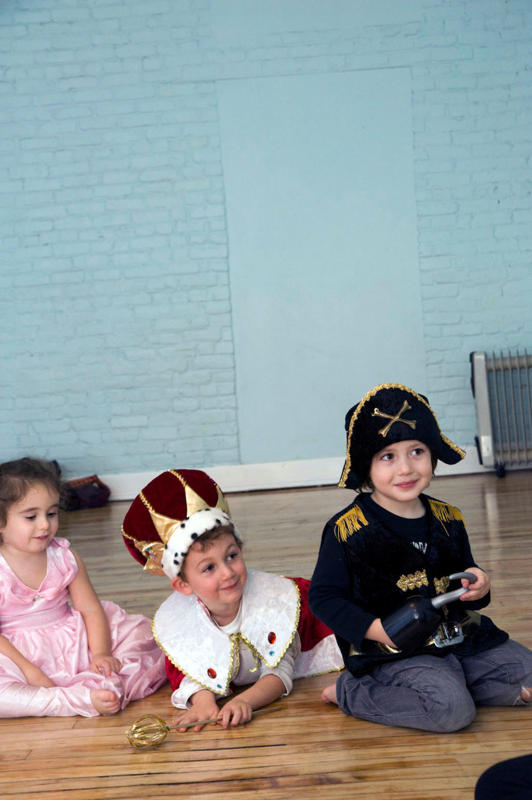 Halloween class with Child's Play NY
