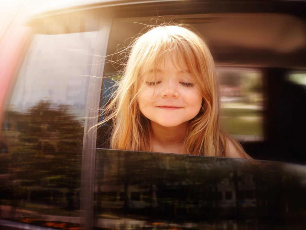 road trip car games happy kid