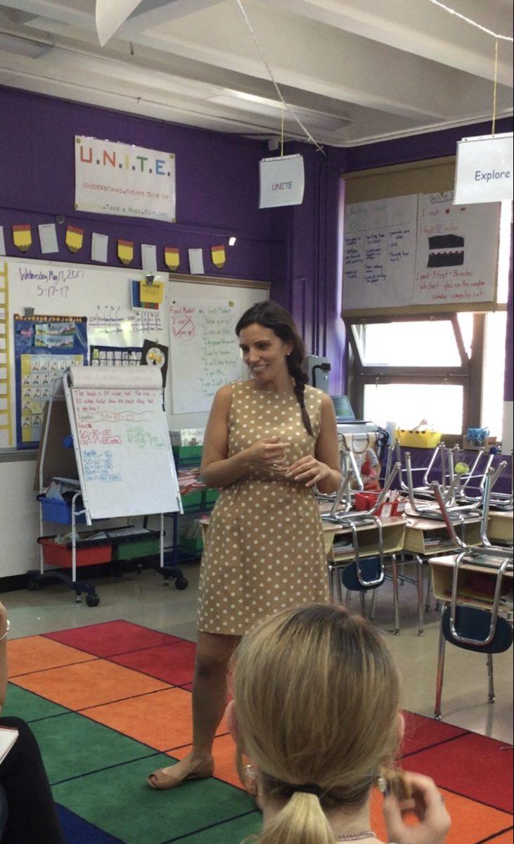 A teacher in quarantine