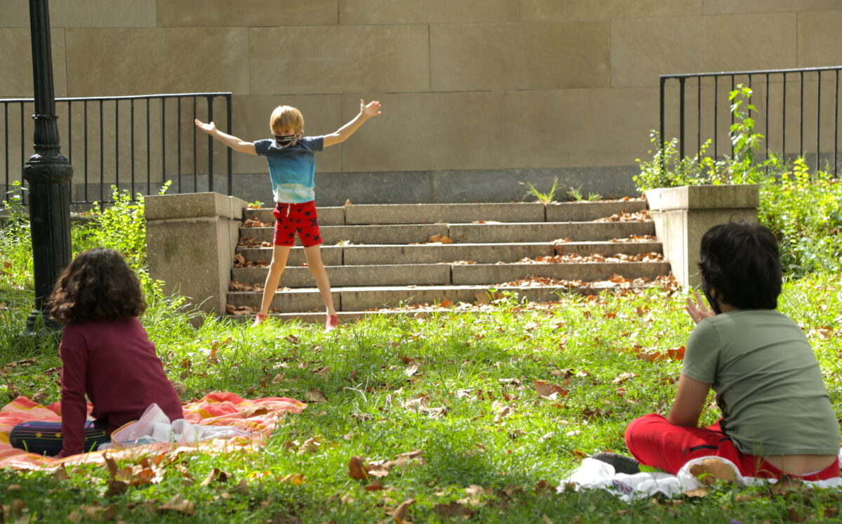 outdoor play pod