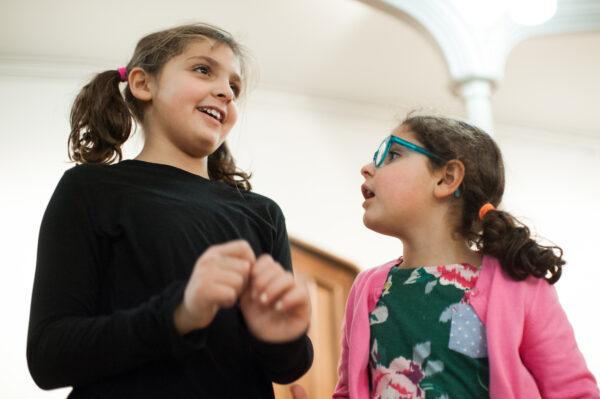 siblings in a storytelling game